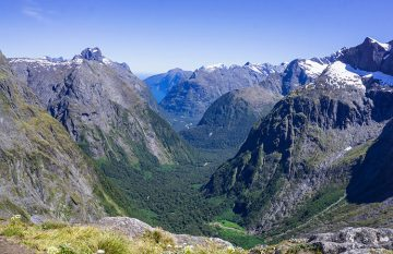 Hiking the Gertrude Saddle Track, Fiordland National Park, New Zealand