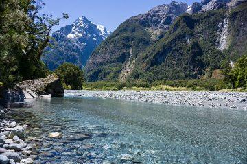 Hiking the Tutoko Valley Track, New Zealand