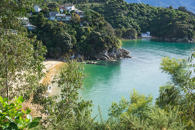 Breaker Bay and Honeymoon Bay, Kaiteriteri, Nelson Tasman, New Zealand