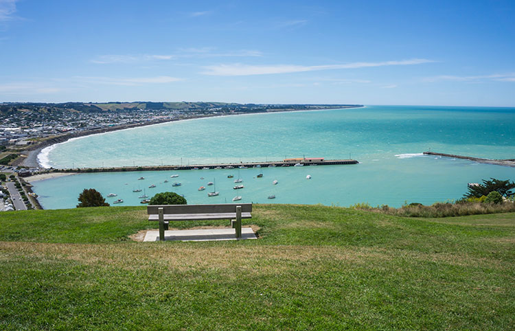 Lookout Point, one of the best things to do in Oamaru, New Zealand