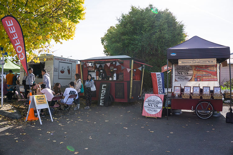 The Motueka Sunday Market, Nelson Tasman, New Zealand