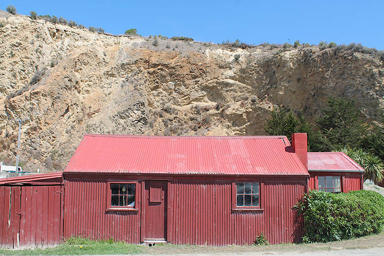 Red shed, Oamaru, New Zealand