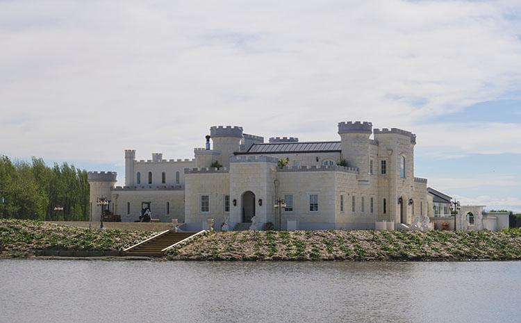 Riverstone Castle, Oamaru, New Zealand