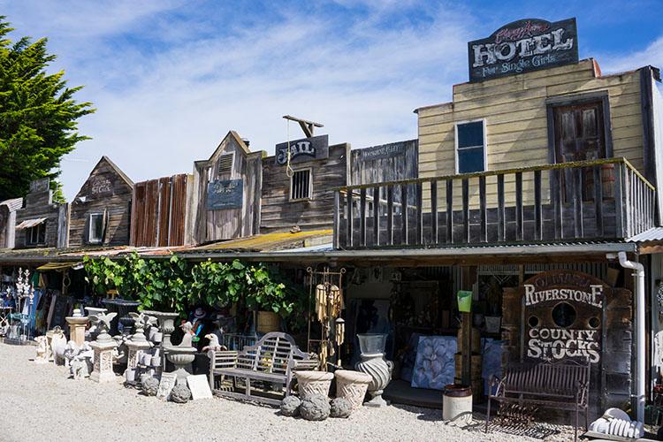 Riverstone shops, Oamaru, New Zealand