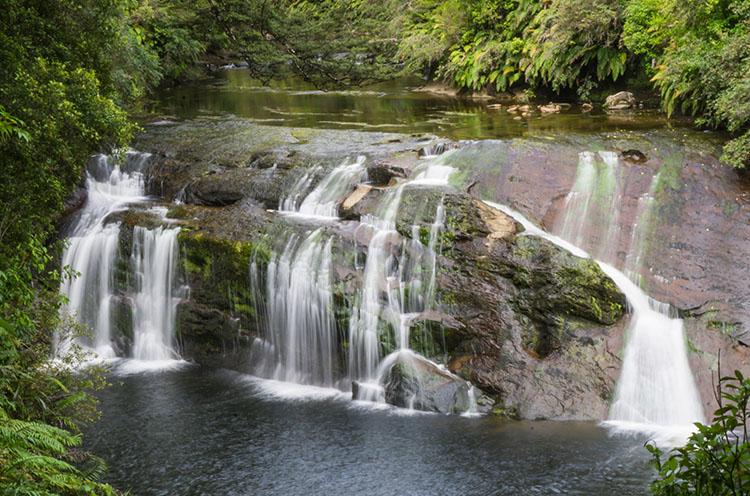 Coal Creek Falls, West Coast, New Zealand