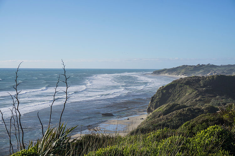 Coastal views on the West Coast, New Zealand