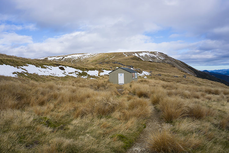 A hut at Mount Robert, Nelson Lakes National Park, New Zealand