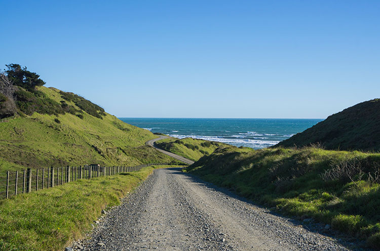 Golden Bay to the West Coast -- driving to Anatori, New Zealand