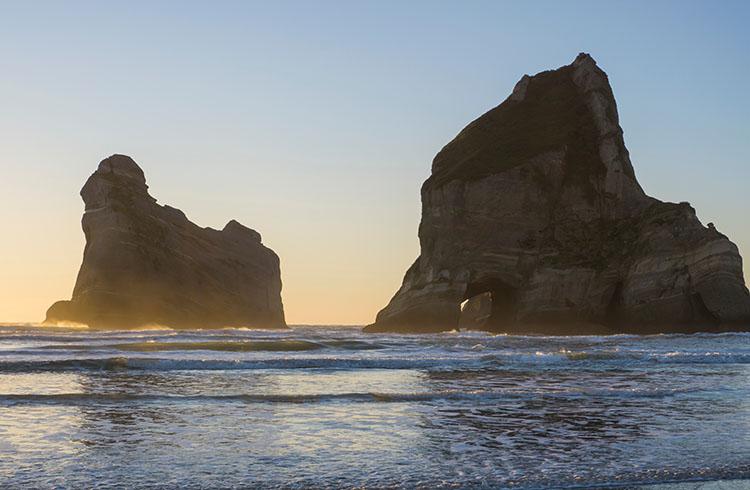 Golden Bay sunset, New Zealand