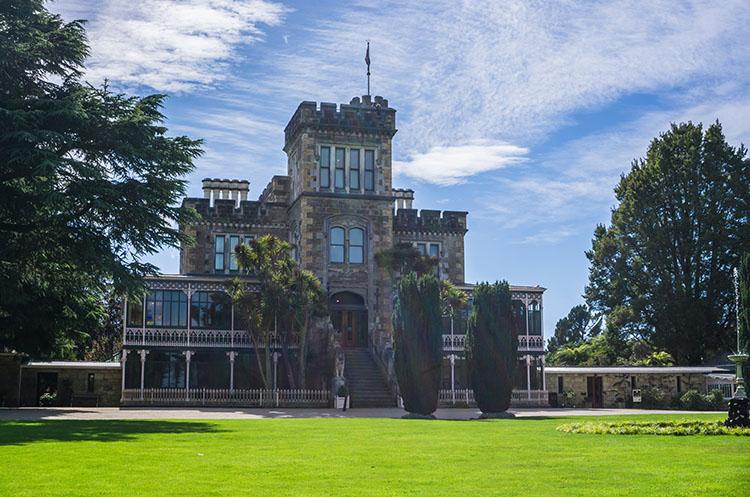 Larnach Castle, Dunedin, New Zealand