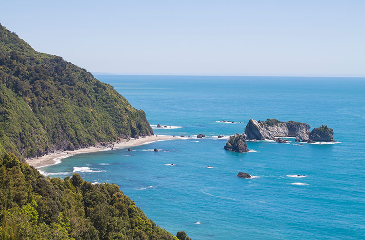 Knights Lookout, West Coast, New Zealand