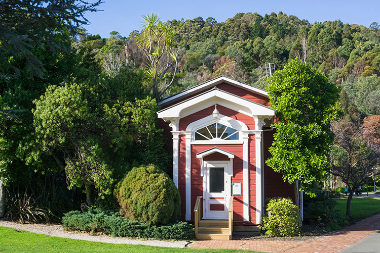 Museum in Nelson, New Zealand