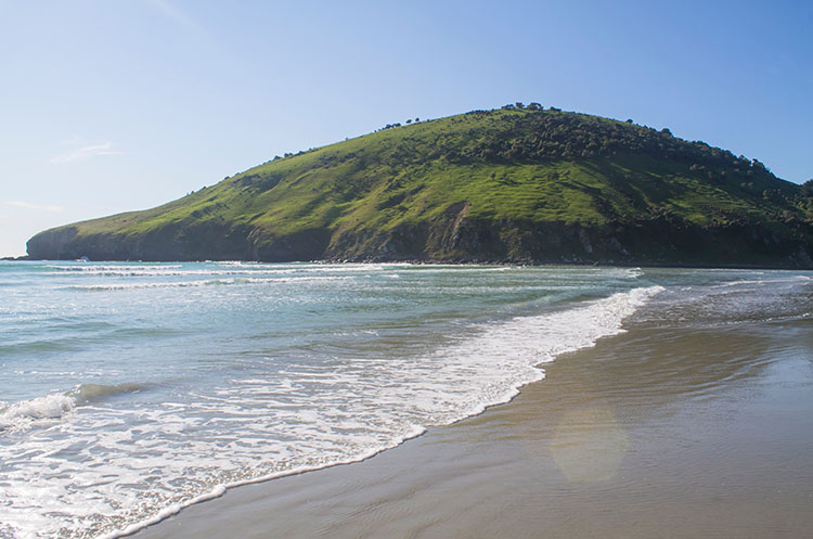 Purakaunui Beach, Dunedin, New Zealand