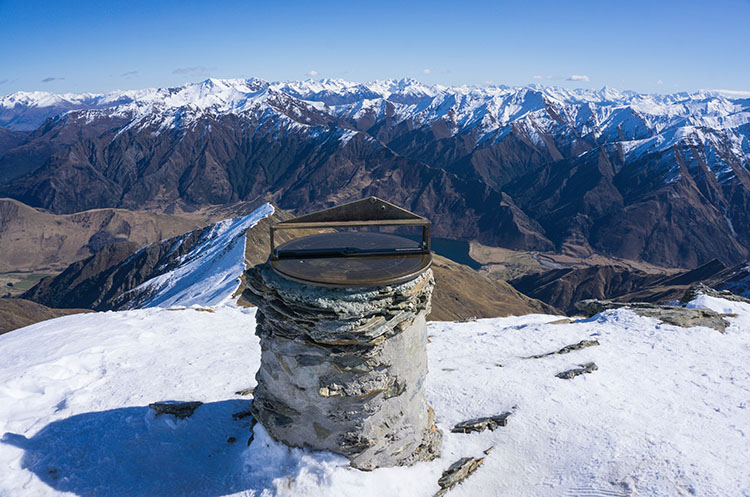 Ben Lomond Summit, Queenstown, New Zealand