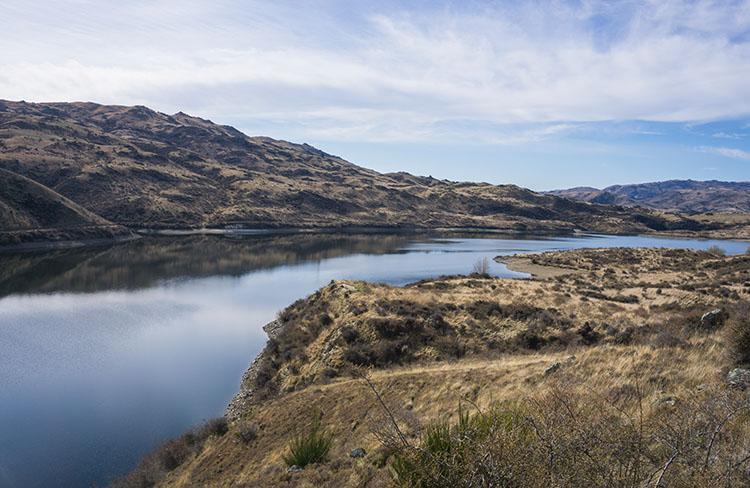 Fraser Dam, Central Otago, New Zealand
