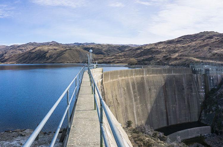Fraser Dam, Alexandra, New Zealand
