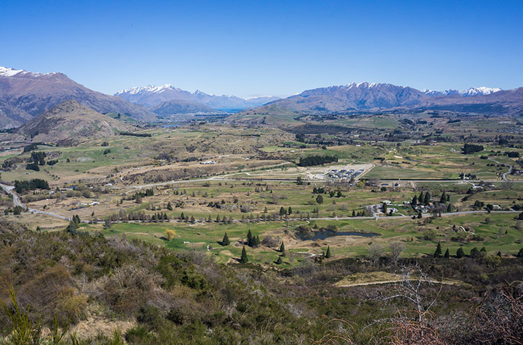 View from Tobins Track, Arrowtown, New Zealand