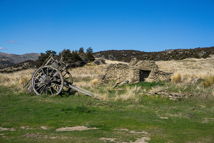 Logantown ruins, Central Otago, New Zealand