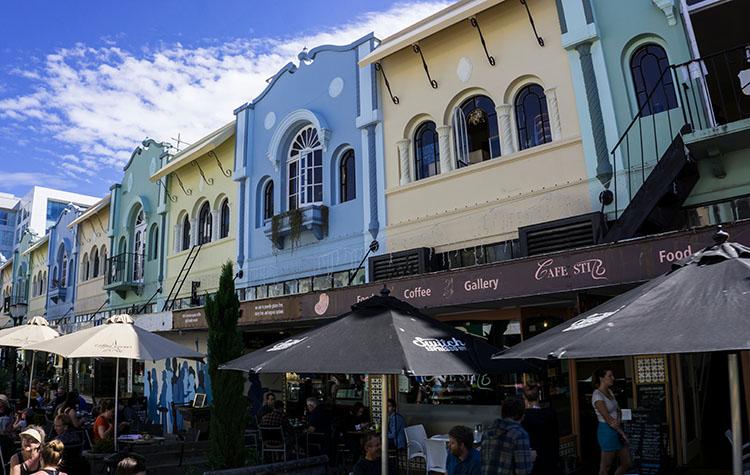 New Regent Street shops, Christchurch, New Zealand
