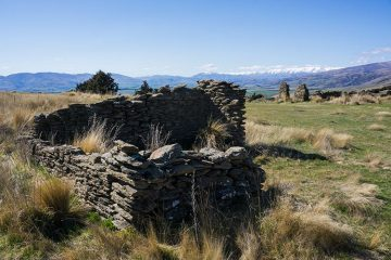 Exploring Bendigo Historic Reserve, Central Otago, New Zealand