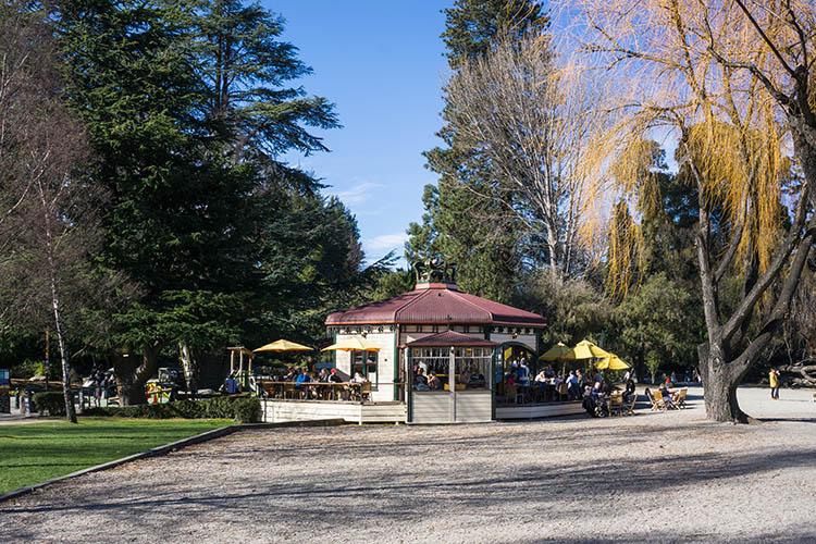 Cafe near Queenstown Gardens, New Zealand
