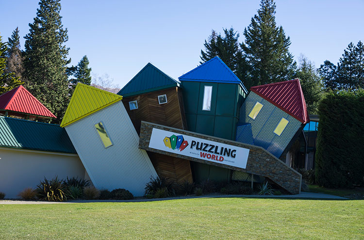 Puzzling World, one of the best things to do in Wanaka, New Zealand
