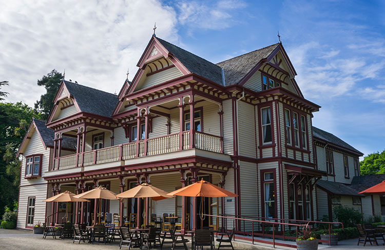 Riccarton House, one of the best things to do in Christchurch, New Zealand