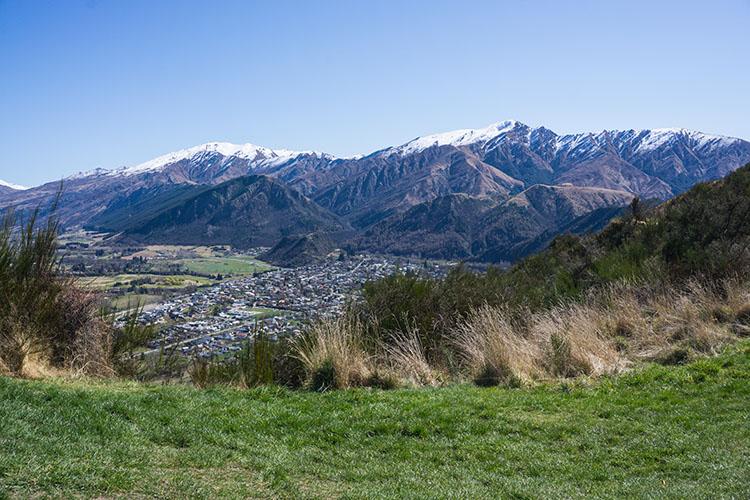 Hiking Tobins Track, Arrowtown, New Zealand