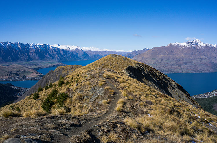 Ben Lomond viewpoint, Queenstown, New Zealand