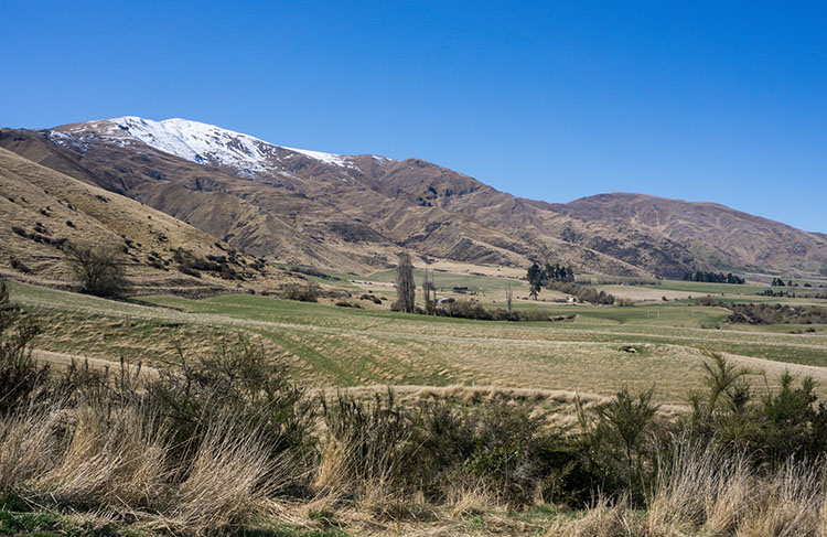 The top of Tobins Track, Arrowtown, New Zealand