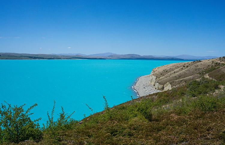 Lake Pukaki, New Zealand's bluest lake