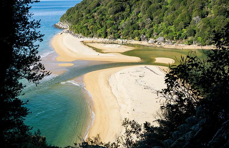 Abel Tasman Track viewpoint, New Zealand