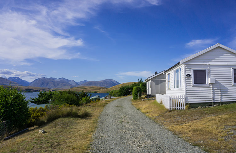 Lake Alexandrina Village, New Zealand