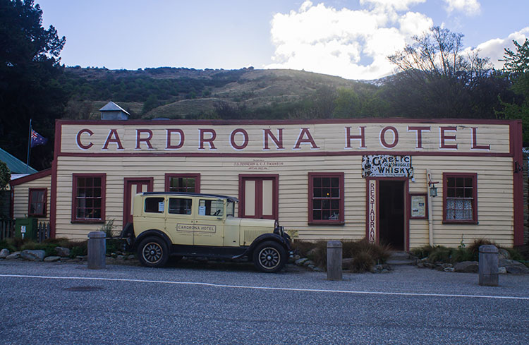 The old Cardrona Hotel, New Zealand