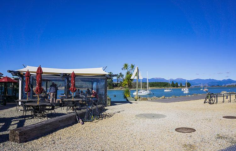 Mapua Cafe, Nelson, New Zealand