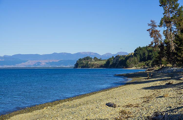 Ruby Coast beach, Nelson, New Zealand