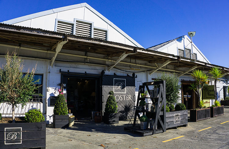 Shopping in Mapua, Nelson, New Zealand