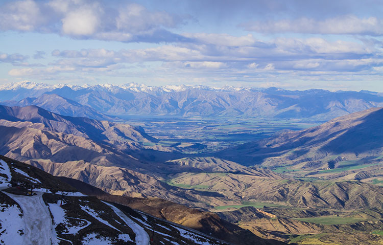 Cardrona ski field, one of the best things to do in Wanaka, New Zealand