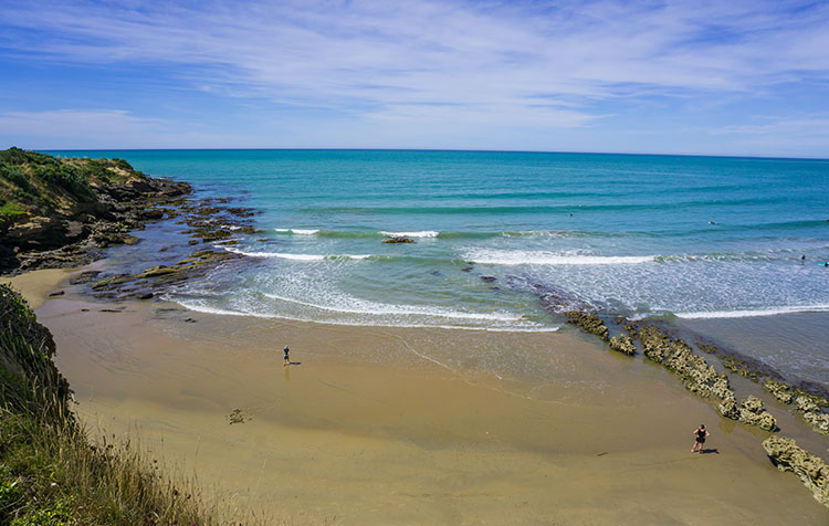 Kakanui, a good place to stop when driving from Dunedin to Oamaru
