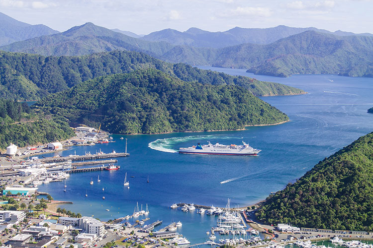 Cruising the Marlborough Sounds, New Zealand