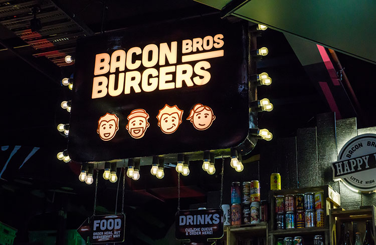 Bacon Bros, Little High Eatery, Christchurch, New Zealand