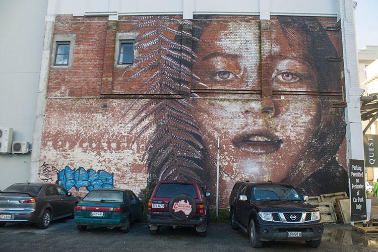 Street art in Christchurch, New Zealand