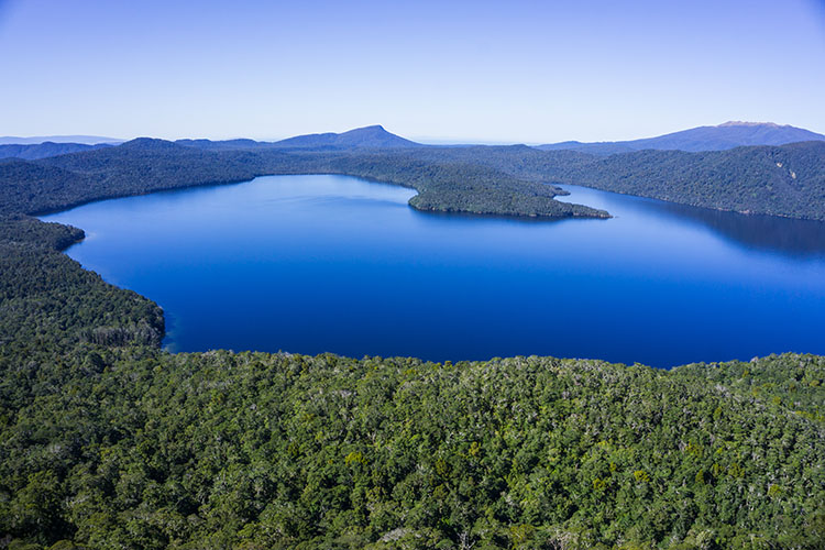Lake Hauroko, New Zealand