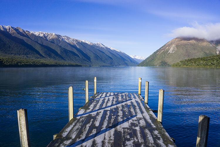 Lake Rotoiti Pier, New Zealand