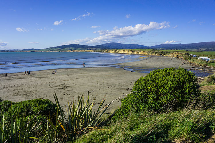 Viewpoint at Monkey Island, Southland, New Zealand