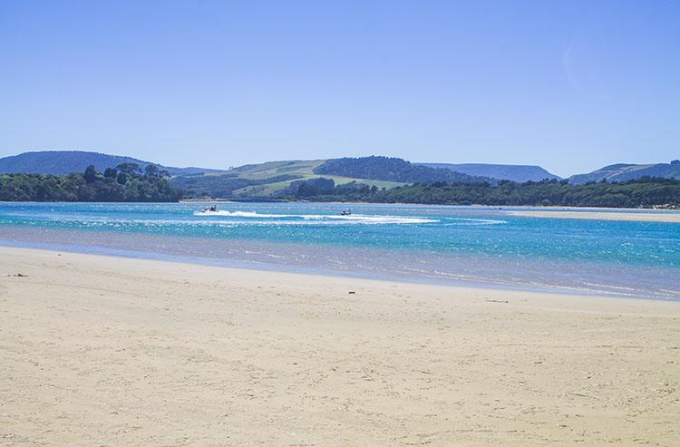 Watersports at Papatowai Beach, New Zealand