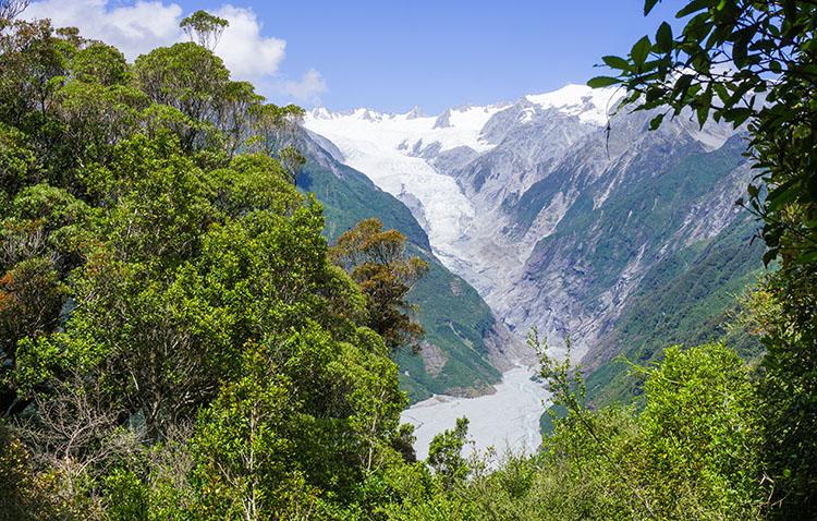 Rata Lookout, Franz Josef Glacier, New Zealand
