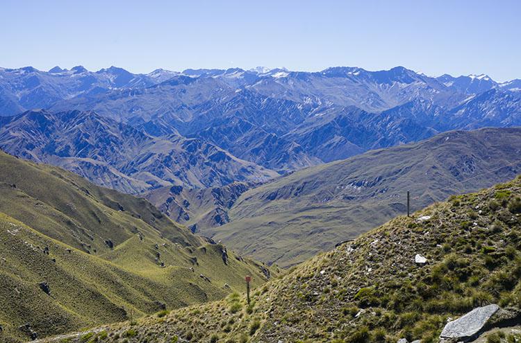 View from Coronet Peak, Queenstown, New Zealand