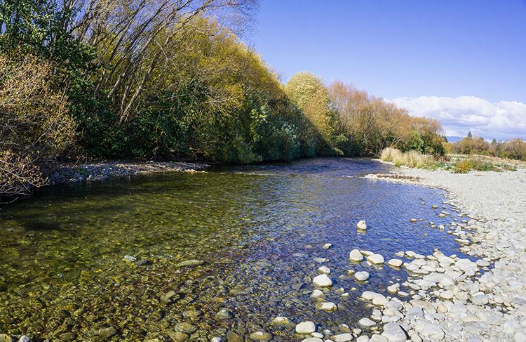 Fraser Stream, Twizel, New Zealand