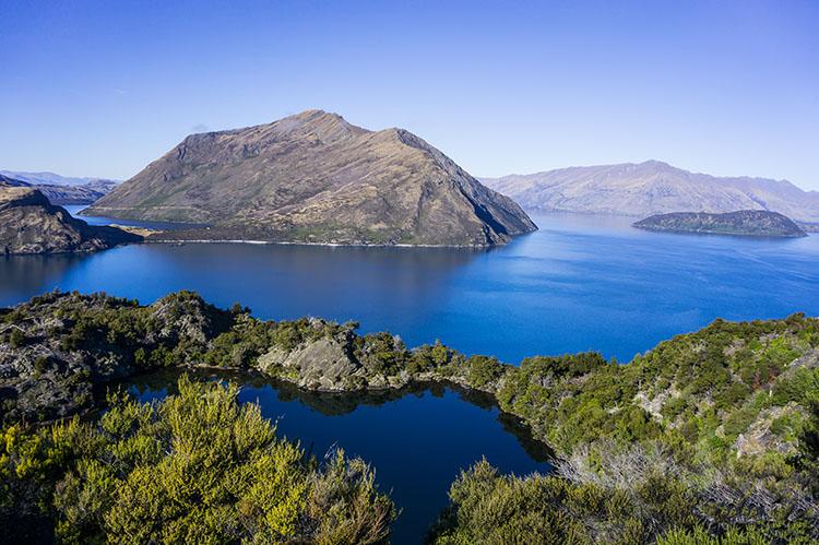 A Lake Wanaka Cruise to Mou Waho Island
